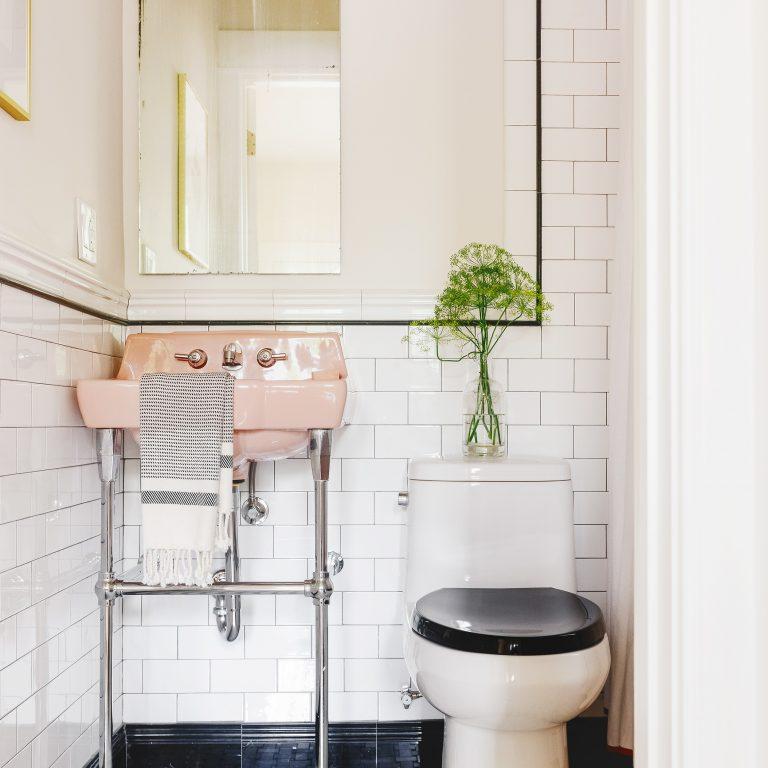 Yellow Brick Home Bathroom