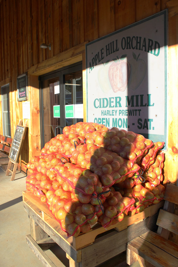 Apple Hill Orchard bagged apples
